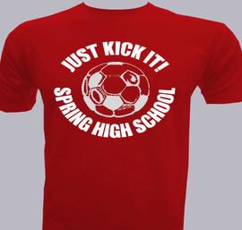 School-Soccer - T-Shirt