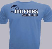 DOLPHINS-SWIM-CLUB T-Shirt