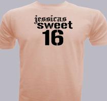 Birthday Jessicas-Sweet- T-Shirt
