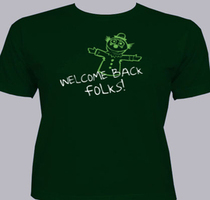 welcome-back T-Shirt