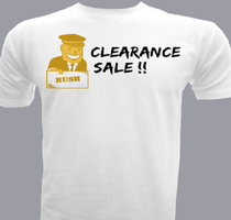 Promotional clearance-sale T-Shirt