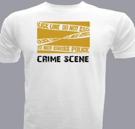 crime scene - T-Shirt