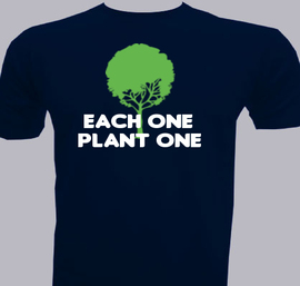 each one plant one - T-Shirt