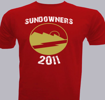 Promotional sundowners T-Shirt