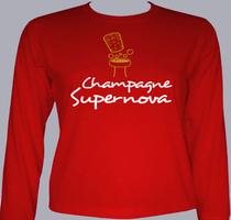 Promotional champagne-supernova T-Shirt