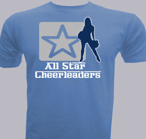 Cheerleading all-star-cheerleaders T-Shirt