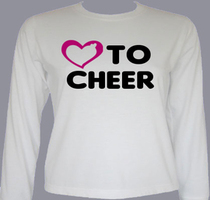 love-to-cheer T-Shirt