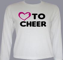 Cheerleading love-to-cheer T-Shirt