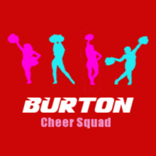 Cheerleading burton-cheer-squad T-Shirt