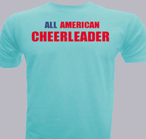 Cheerleading All-American-Cheerleader T-Shirt