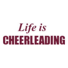 Cheerleading Life-Is-cheerleading T-Shirt
