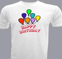 Birthday Happy-Bday T-Shirt