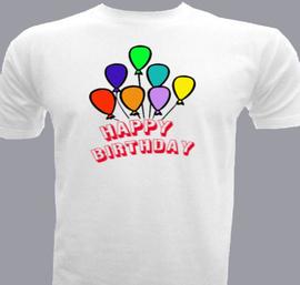 Happy-Bday - T-Shirt