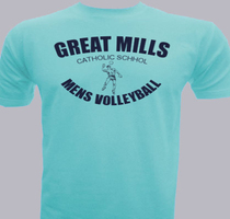 Great-Mills-Mens-Volleyball T-Shirt