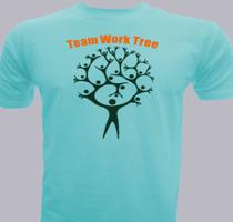 Team Building team-work-tree T-Shirt