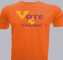 Political Vote-for-Change T-Shirt