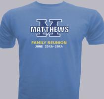 Matthews-Family-Reunion T-Shirt