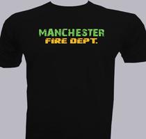 Fire Dept manchester-fire-dept. T-Shirt