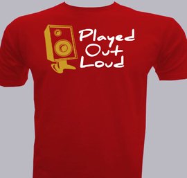 Played out loud - T-Shirt