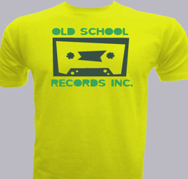 Old school records - T-Shirt