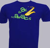 general-performance Sax-Maniacs T-Shirt