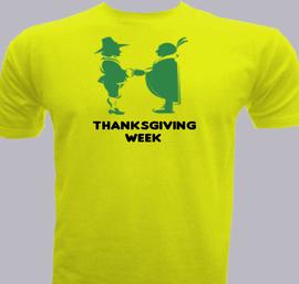thanksgiving week - T-Shirt