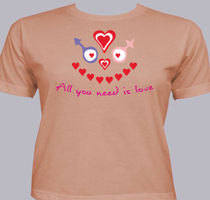 Love All-you-need-is-love T-Shirt