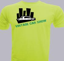 Promotional Vintage-Car-Show T-Shirt