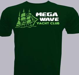 Mega-Wave-Yacht-Club - T-Shirt