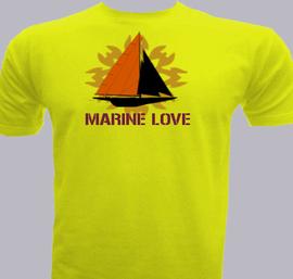 Marine-Love - T-Shirt