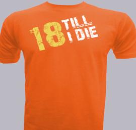 till i die - T-Shirt