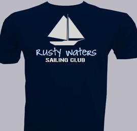 Rusty Waters Sailing Club - T-Shirt