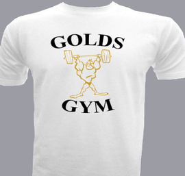 Golds gym men 39 s t shirt at best price editable design india for Gym t shirts india