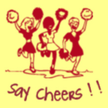 Cheerleading Say-cheers T-Shirt