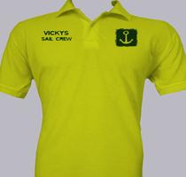 Sailing Vicky%s-Sail-Crew T-Shirt