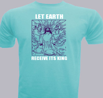 Jesus Let-earth-receive-its-king T-Shirt