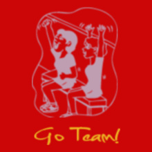 Cheerleading Go-team T-Shirt