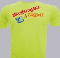 Political Indifference-is-a-crime T-Shirt