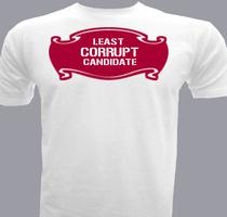 Political Least-Corrupt-Candidate T-Shirt