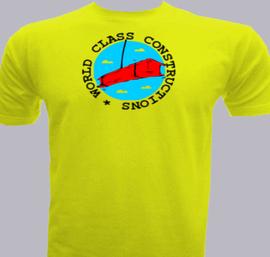 World Class Constructions - T-Shirt