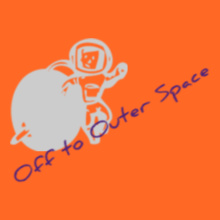 Off-to-outer-space T-Shirt