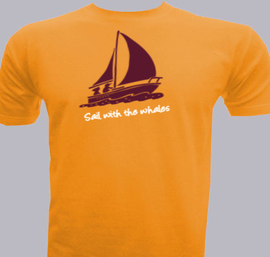 sail-with-the-whales - T-Shirt
