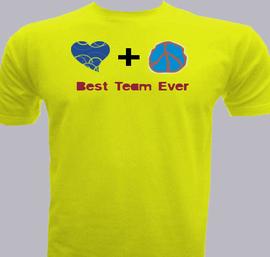 Best Team ever - T-Shirt