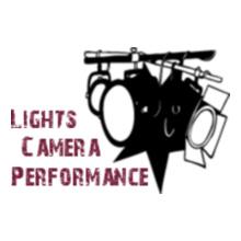 Lights-camera-performance T-Shirt
