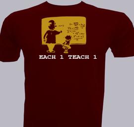 Each  Teach  - T-Shirt