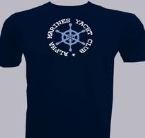 Alpha-Marines-Yacht-Club T-Shirt