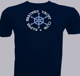 Alpha-Marines-Yacht-Club - T-Shirt