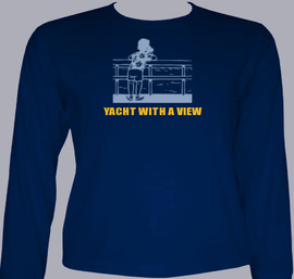 Yacht-with-a-view - T-Shirt