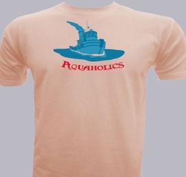 Aquaholics - T-Shirt
