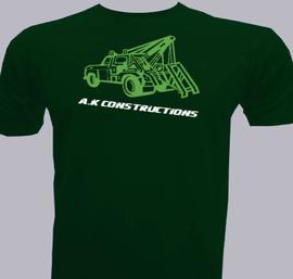 ak-constructions - T-Shirt